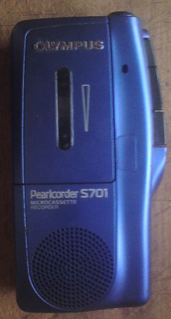Диктофон кассетный Olympus PearlCorder S701 (микрокассетный)