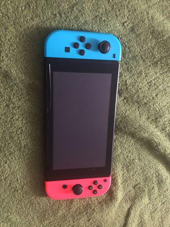 Nintendo switch okazja!z grami i karta pamieci+GWARANCJA