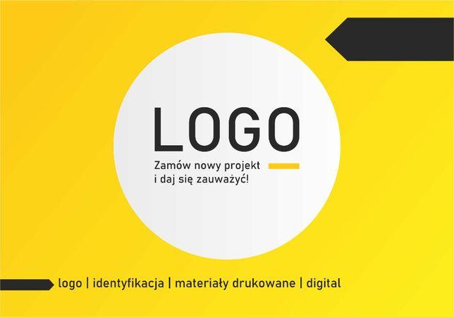 Projekt logo, projekty graficzne, ulotki, bannery, plakaty, wizytówki