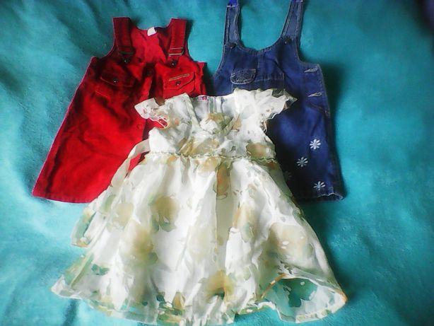 zestaw sukieneczek
