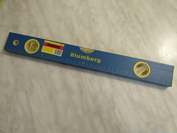 Уровень строительный васервага 40 см Blumberg 3 капсулы