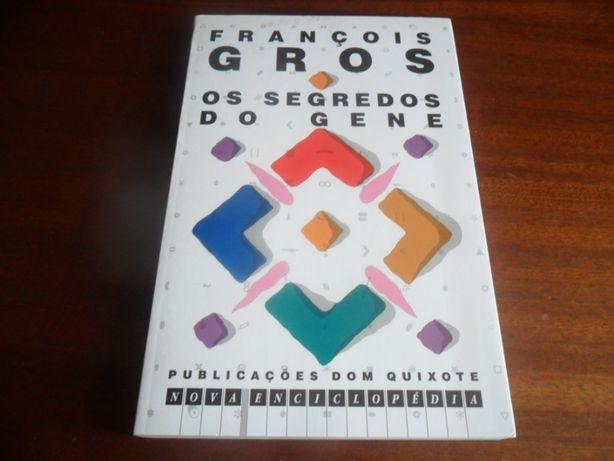 """""""Os Segredos do Gene"""" de François Gros - 1ª Edição de 1991"""
