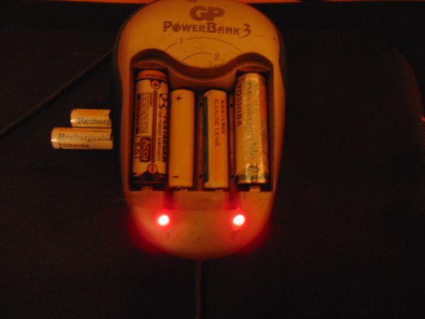 Ładowarka na akumulatorki. GP.