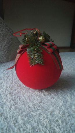 Bombka świąteczna materiał prezent