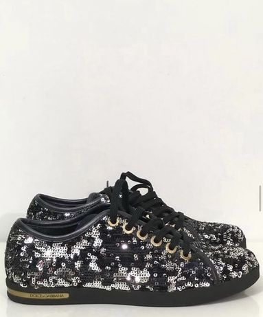 Практически новые лоферы кроссовки Dolce&Gabbana. Люкс бренд. Оригинал