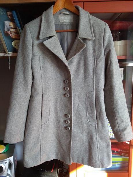 Płaszcz wełna wool kaszmir r. 40