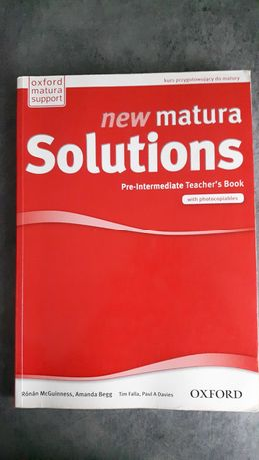 new Matura Solutions pre-intermediate Teacher's Book