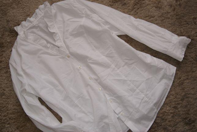 biala koszula 50-52-54