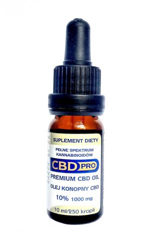 Cannabis olejek cbd pro 10% 1000 mg + gratis