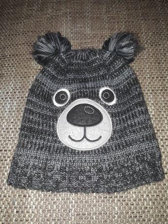 Ciepłe czapki chłopięce, zimowe, różne rozmiary, kolorowe