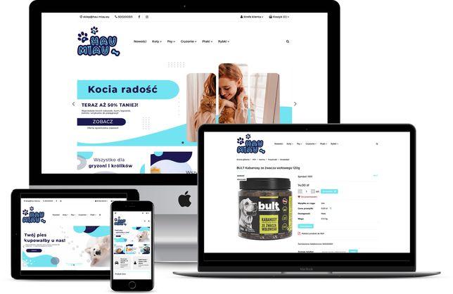 Sprzedam zoologiczny sklep internetowy hau-miau.eu - dropshipping