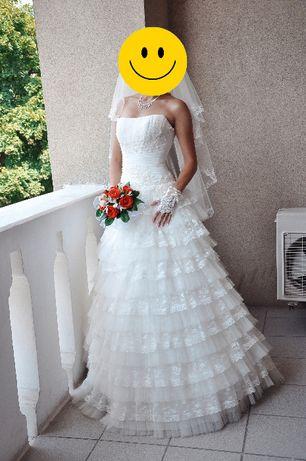 Свадебное платье, р. 42-44