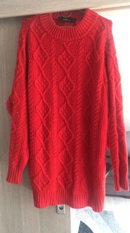 Zara piekny dłuższy sweter s/m nowy