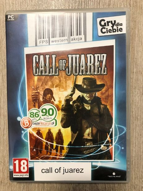 Call of Juarez (jak nowa) PC DVD