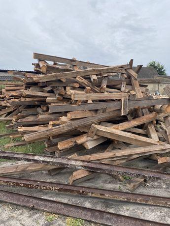 Belki drewniane z rozbiórki