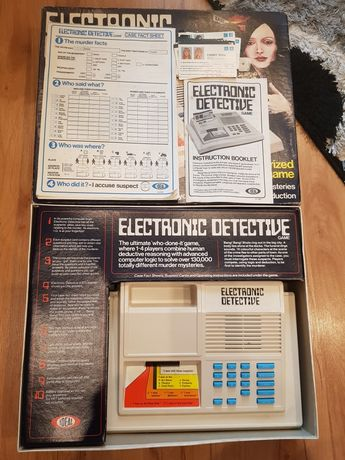 Gra planszowa Electronic Detective