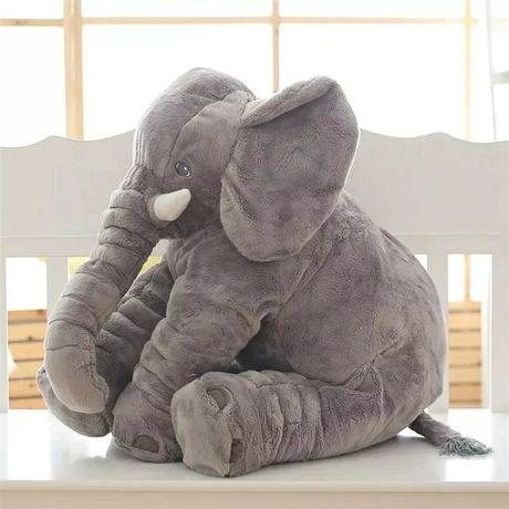 Słoń pluszak maskotka na prezent dla noworodka