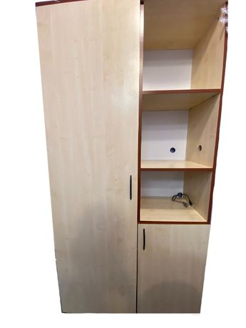 Шкаф офисный + шкаф для одежды. Цена 2000р