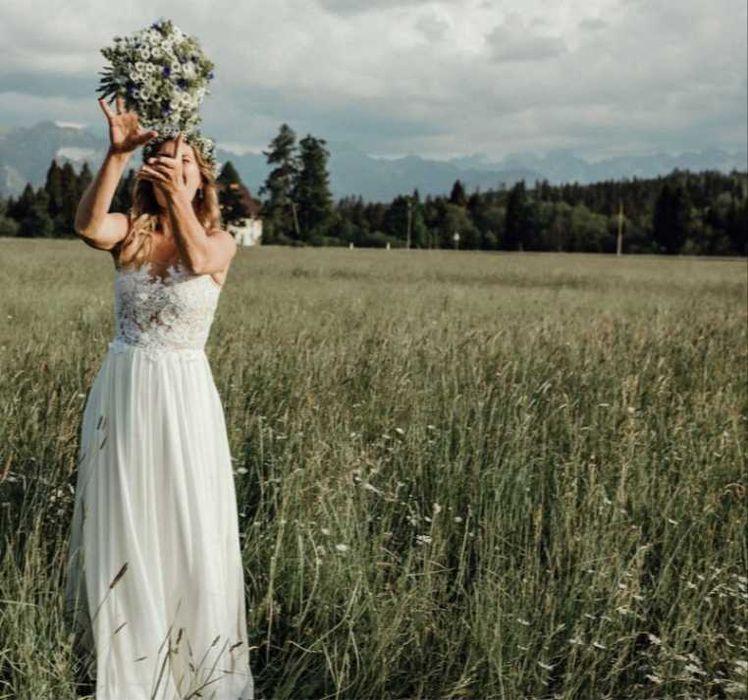Suknia ślubna M/L Zabrze - image 1