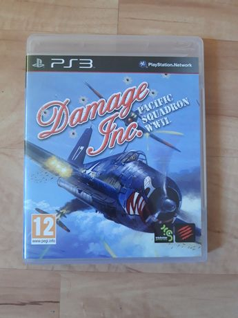 OKAZJA! Damage INC. Pacific Squadron WWII na Ps3 PlayStation