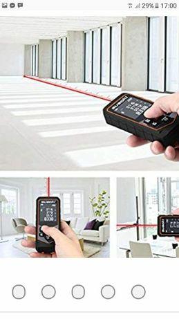 Dalmierz laserowy 100M miernik metrowka miara Laserowy LCD