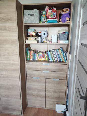 Szafka słupek komoda z szuflady i półki