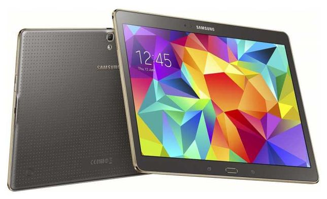 Tablet Samsung Galaxy Tab S 10.5 AMOLED T800 + oryginalny book cover