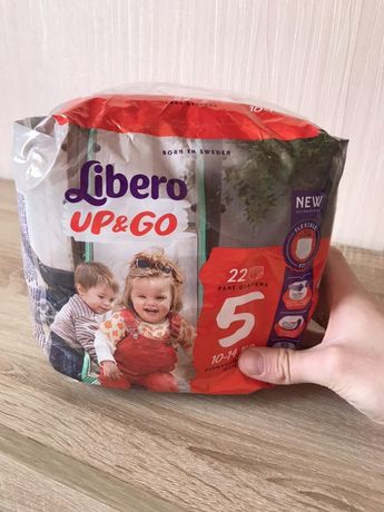 Упаковка подгузников Libero UP and GO