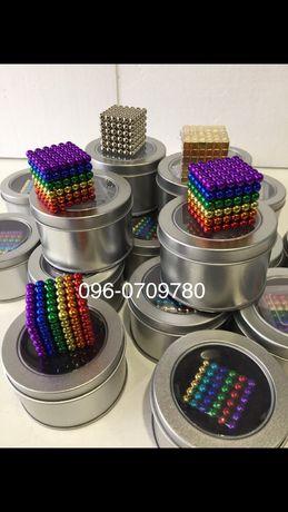 ОПТ. Неокуб 216 магнитных шариков 5 мм. Магнитный конструктор