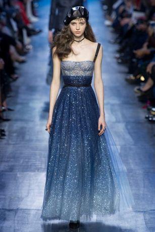 Роскошное вечернее, выпускное платье Диор