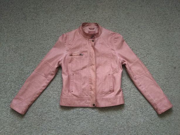 Куртка кожаная размер S-М идеальное состояние