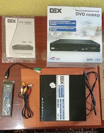 DVD-плеер DEX DVP-151