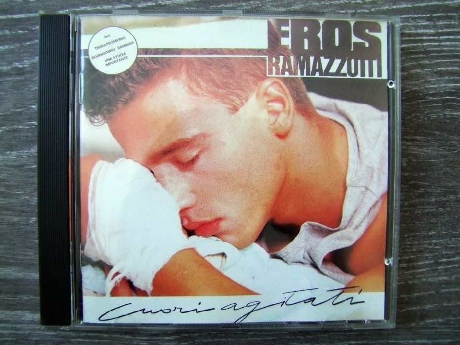 Eros Ramazzotti - Cuore Agitati (1987r) Zamość - image 1