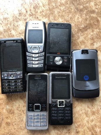 Продам телефони.