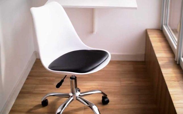 Офисное кресло для салона офиса B-487 компьютерный стул офисный белый