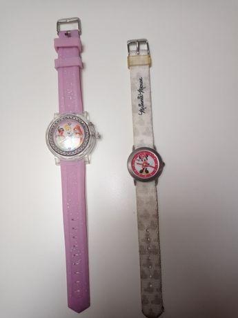 Zegarki dla dziewczynki: myszka Minnie i księżniczki