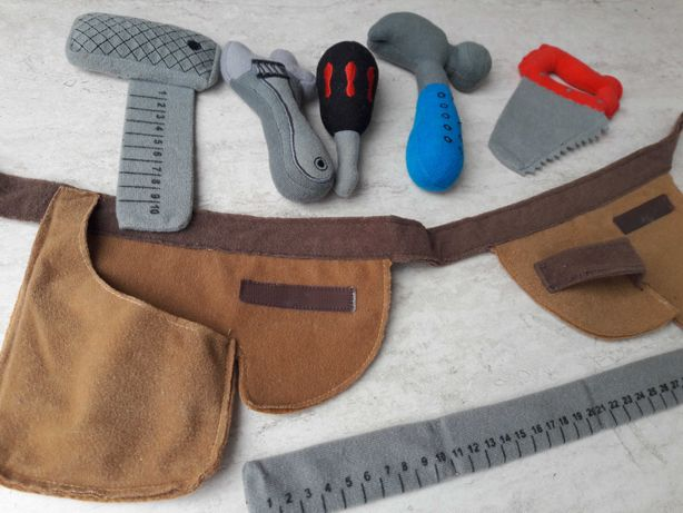 Игровой набор детских инструментов ИКЕА Ikea мягкий до 3х лет