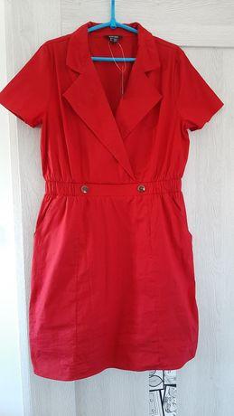 Sukienka Nowa r. 42 esmara czerwień,  bordowa