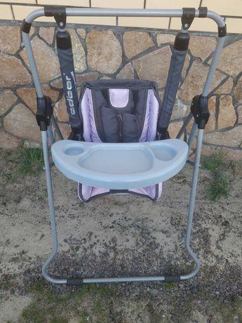 Стільчик стілець для годування, гойдалка (2в1)