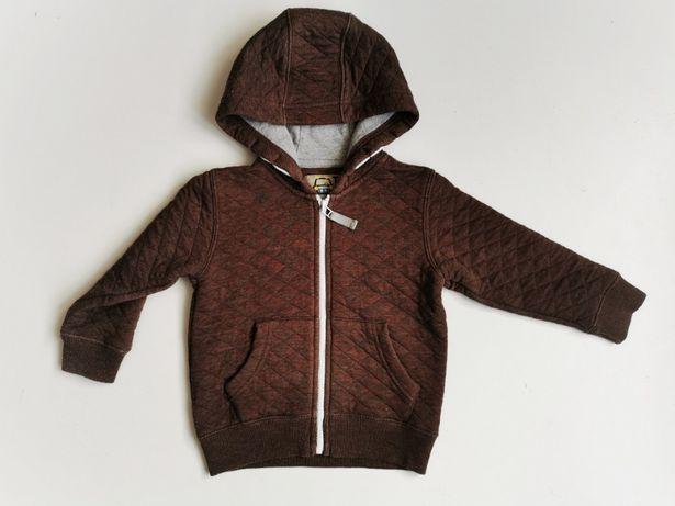 Bluza dla dziecka pikowana, ciepła rozmiar 80/86 wiek 1-1,5
