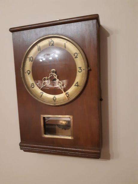 Zegar skrzynkowy mechaniczny