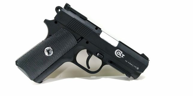 Pistola COLT Full Metal, esferas metal 4.5mm, NOVA - Tiro Desportivo