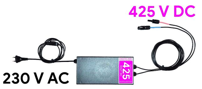 Symulator panela fotowoltaicznego 425 V DC
