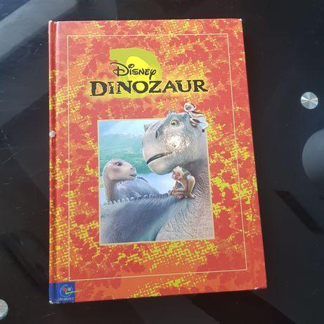 Książka Dinozaur Disney Twarda okładka duży format A4