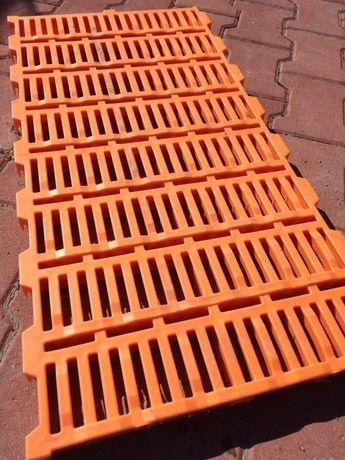 Ruszt plastikowy podłoga rusztowa dla świń
