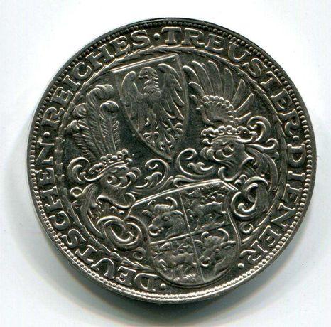 Монета-медаль Германии 1927 год 80 лет Вейсмарской республики