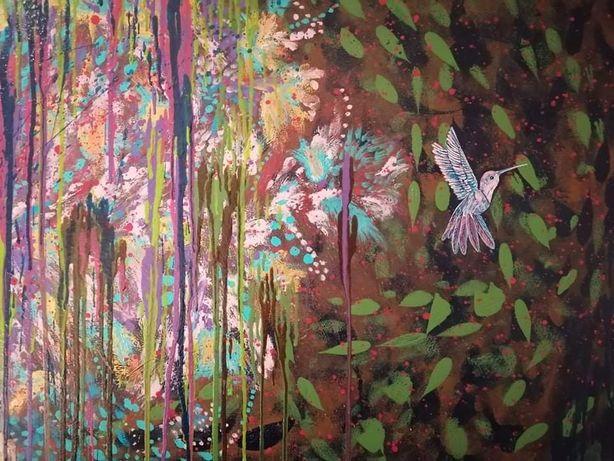 Obraz akrylowy 100 x 70 cm koliber