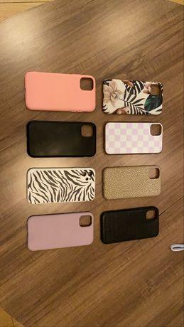 Capas variadas Iphone 11