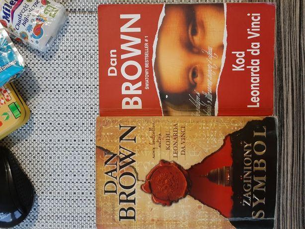 Książki -Zaginiony symbol da Vinci