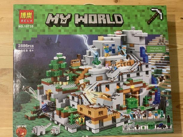 Конструктор Bela Minecraft 10735 Горная пещера 2886 дет. (Lego Лего)
